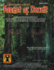Eldritch Ent - Christopher Clark's Forest of Deceit ENT21001