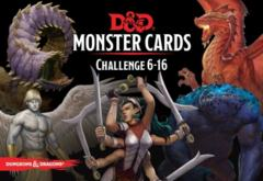 5th Edition D&D Monster Cards Challenge 6-16
