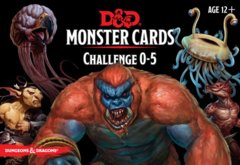 5th Edition D&D Monster Cards Challenge 0-5