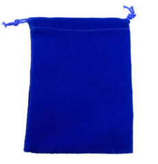 Chessex - Blue Velour Dice Pouch (Small) - CHX 02376