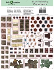 Role 4 Initiative - Dungeon Dressing - Containers