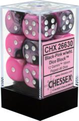 CHX 26630 Gemini Black-Pink w/White 16mm D6 (12)