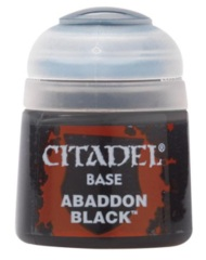 (SL 21-25) Citadel Paint - Base - Abaddon Black (12ML)