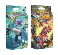 Pokemon TCG: Sun & Moon Cosmic Eclipse Towering Heights Theme Deck Groudon