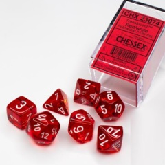 CHX 23074 Translucent Red w/White Poly (7)