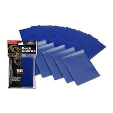 BCW Blue Deck Guards Sleeves (Box of 10 x 50)