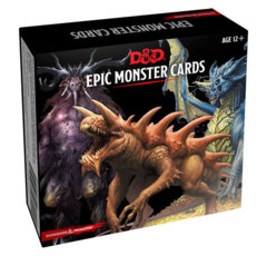 5th Edition D&D Monster Cards Epic Monster Cards (77 Oversized)