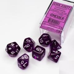 CHX 23077 Translucent Purple w/White Poly (7)