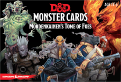 5th Edition D&D Monster Cards Mordankainen's Tome of Foes