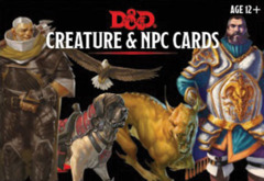 5th Edition D&D Creatures & NPC Cards (182 cards)