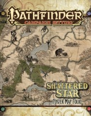 Shattered star poster map folio