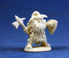 Reaper Bones 77011 Fulumbar Ironhand Dwarf Warrior