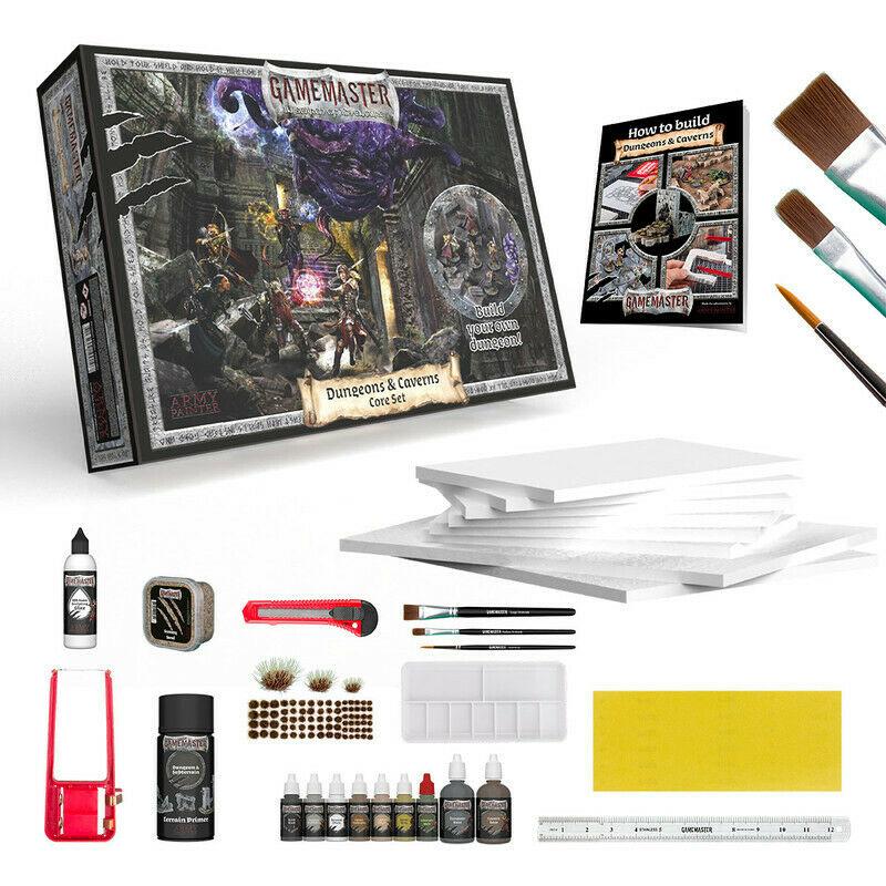 GameMaster Dungeons & Caverns Core Set - Army Painter GM1001