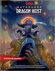 Waterdeep: Dragon Heist D&D 5th Edition Adventure Book