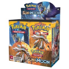 Sun & Moon Booster Display (36 boosters)