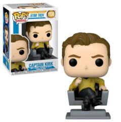 TV Series - #1136 - Captain Kirk in Chair (Star Trek)