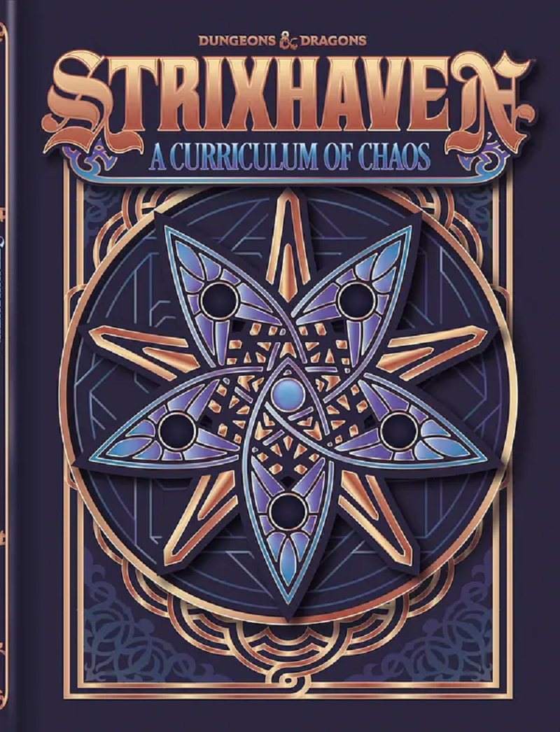 D&D 5th Edition: Strixhaven - Curriculum of Chaos - Alternate Cover