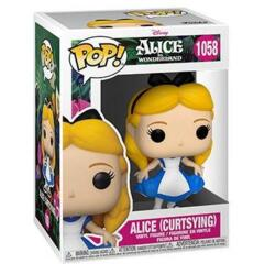 Disney Series - #1058 - Alice (Curtsying) (Alice in Wonderland)