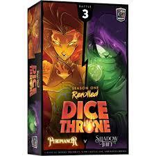 Dice Throne Season 1 Rerolled: Pyromancer vs. Shadow thief
