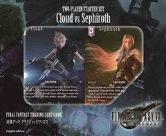 FINAL FANTASY TCG CLOUD/SEPHIROTH 2 PLAYER SET