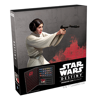 Fantasy Flight - Star Wars Destiny: Princess Leia Dice Binder