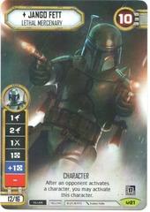 Jango Fett - Lethal Mercenary Q3 (No Dice)