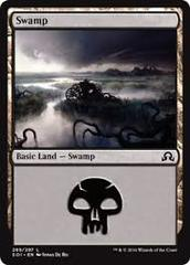 1 Random Swamp (Black Border)