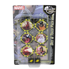 X-Men Xavier's School Dice and Token Pack