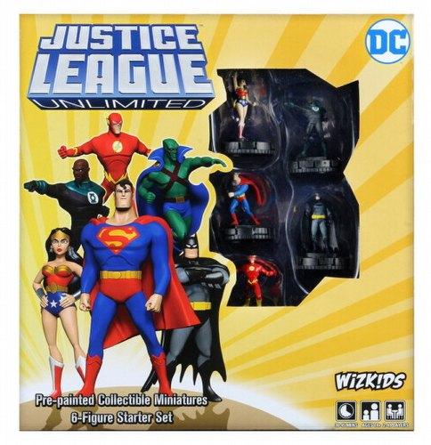 DC HeroClix: Justice League Unlimited Starter Set