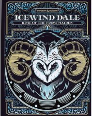 D&D Icewind Dale Rime of The Frostmaiden Alternate Cover
