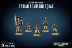 Warhammer 40k Cadian Command Squad