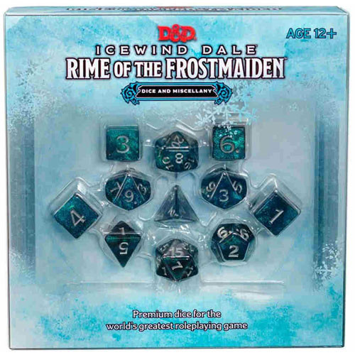 D&D Icewind Dale Dice Set