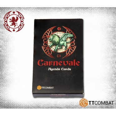 Carnevale Agenda Cards