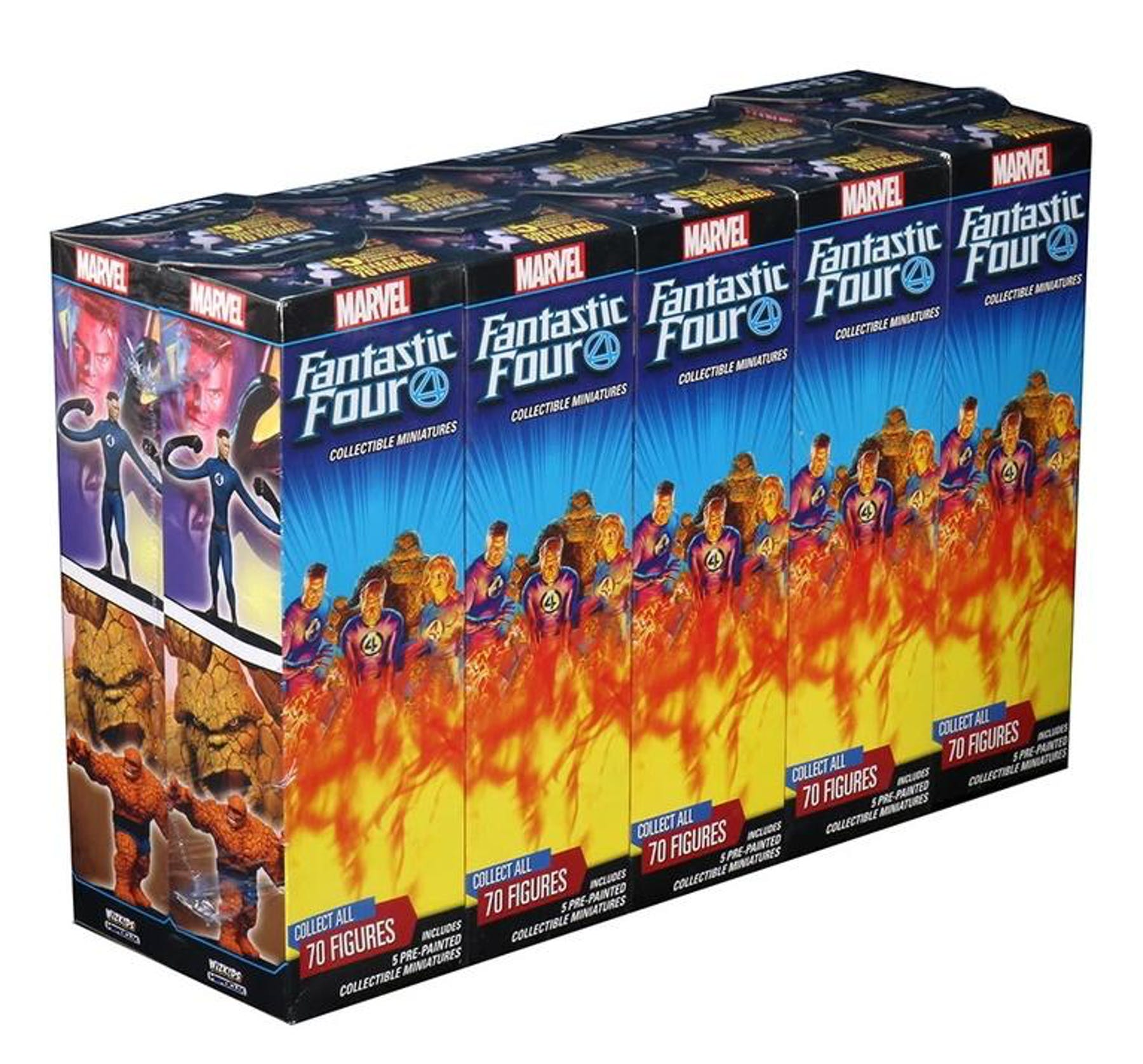Marvel HeroClix: Fantastic Four Booster Brick