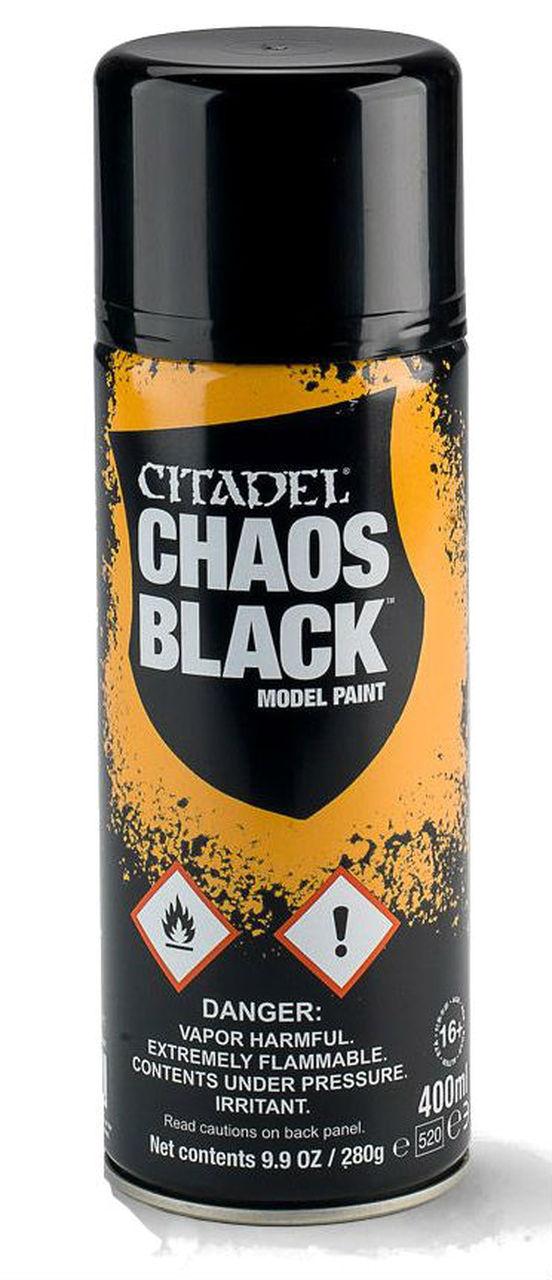 Citadel Chaos Black Model Paint