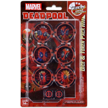 Deadpool Dice and Token Pack