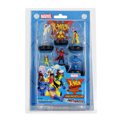 Heroclix X-Men Animated Dark Phoenix Saga Fast Forces Set