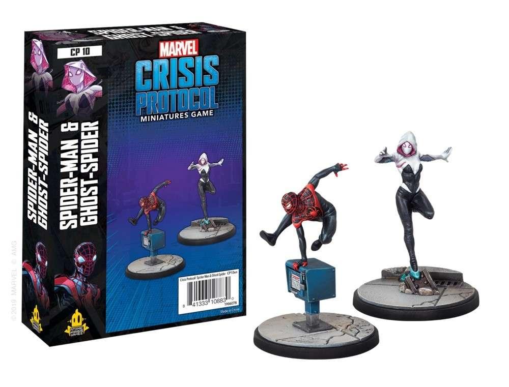 Marvel Crisis Protocol Spider-Man & Ghost-Spider