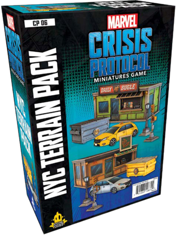 Marvel Crisis Protocol NYC Terrain Pack