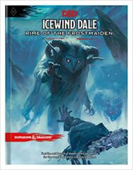 D&D Icewind Dale Rime of The Frostmaiden