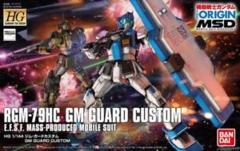 THE ORIGIN- 1/144 GM GUARD CUSTOM