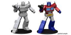 Transformers Optimus Prime Unpainted Miniature