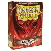Dragon Shield Matte Crimson Card Sleeves 100 Count
