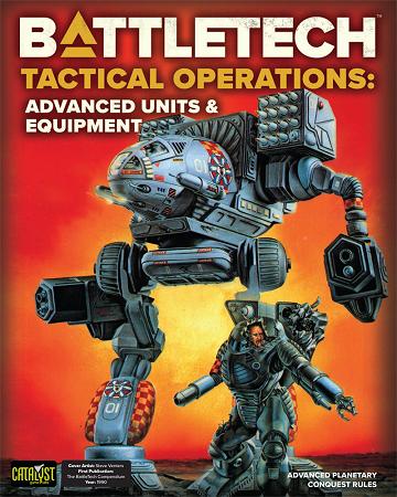 Battletech Tactical Operations Advanced Units & Equipment
