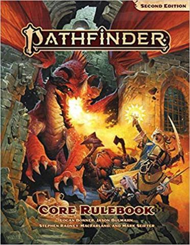 Pathfinder Core Rulebook 2nd Edition