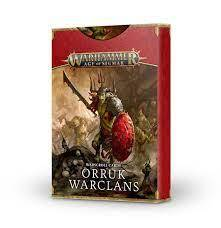 Orruk Warscroll Cards