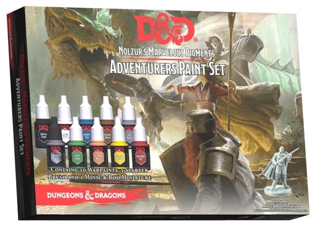 D&D Nolzurs Marvelous Pigments Adventures Paint Set
