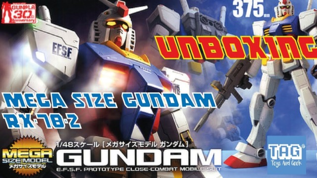 MEGA SIZED MODEL- 1/48 SCALE GUNDAM