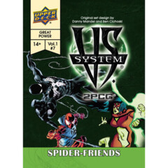 Vs. System 2 PCG: Spider-Friends Expansion