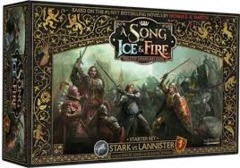 A Song of Ice and Fire Starter Set Stark vs Lannister